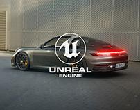Porsche Targa - Unreal Engine 4 RTX
