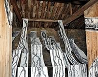 L'ETE DES CABANONS Installation