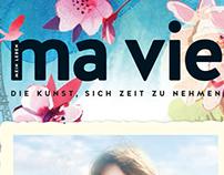 Ma Vie magazine illustration spring 2017