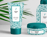 Ocean flavour - packaging and brand design