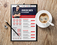 Free Creative Job Resume Template