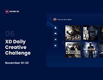 XD Daily Challenge - AR Dashboard
