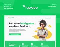 Rapidoo - Novo Site