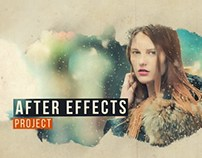 Paint Extract Slide After Effects Project