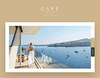 Cape Bodrum Web Sites Concept