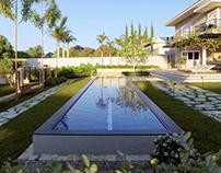 (CGI) Pool House Garden - Amaury Neto Paisagismo