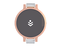 Smartwatch interface. UI/UX