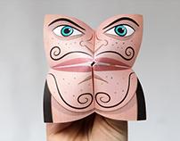 Origami Fortune Teller Puppet