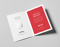 Bi-Fold A5 Brochure / Leaflet Mock-up