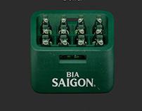 SAIGONBEER APP 3D ICON
