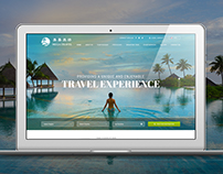 Mega Travel Web Design