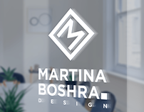 Martina Boshra Design Logo and Branding