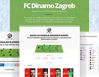 Web app for the membership growth - FC Dinamo Zagreb