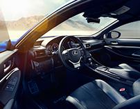 Lexus RCF - CGI Interiors