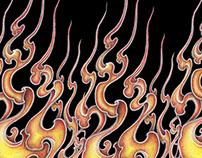 Fire pattern of Japan