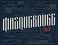 Masquerouge – Free Vintage Display Font