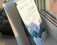 Wedding invitation I Mountains