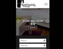 mobile app for Apartamenty Przemysl