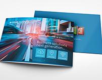Metro Horizontal Tri-fold Brochure