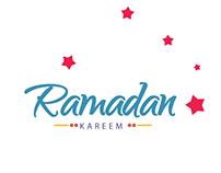"Ramadan 2016 ""free"" typography"
