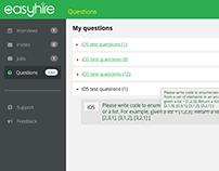 Easyhire - video recruiting platform