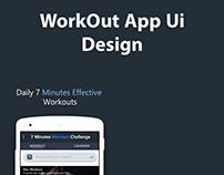 Workout App Ui design