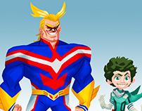 The Incredibles - My Hero Academia