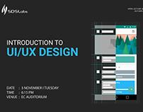 Poster Designs for SDSLabs