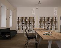 Интерьер читального зала • Reading hall interior