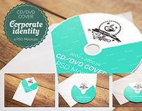 4 PSD CD & DVD Cover Mockups