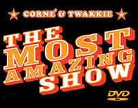 The Most Amazing Show | DVD design