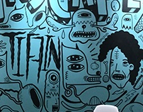 mural for freeform's office