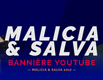 Malicia & Salva - Cover Youtube