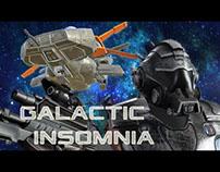 Galactic Insomnia (3D assets)