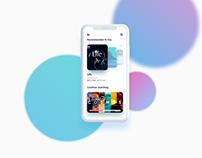 Day 556: Movie App UI Design