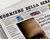 Corriere Della Sera Prototype