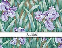 Iris Field Surface Design