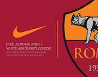 Nike AS Roma 2018-19 Concept Jerseys