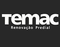 Temac - Logo, Slogan e Papelaria