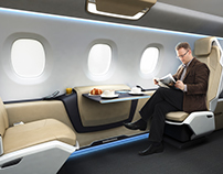 Business jet cabin concept