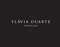Logotipo - Flávia Duarte / Advogada