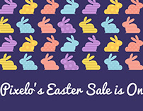 Pixelo's Easter Sale is On!! (25% Off Sitewide)