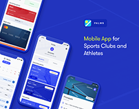 Palms mobile app for sport clubs