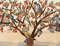 Last Children book: Me+Tree by Balbusso Twins