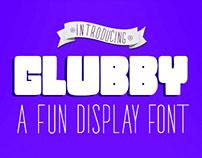 Glubby Font