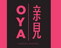 Logo design for Oya
