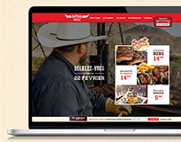 Buffalo Grill - site responsive
