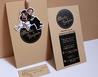 Diseño e Ilustración para invitaciones de boda