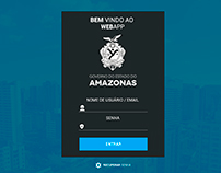 Sistema do Governo do Estado do Amazonas - WebApp