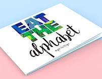 Eat the Alphabet - Children's Book Concept
